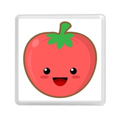 Kawaii Tomato Memory Card Reader (Square)
