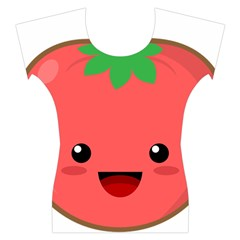 Kawaii Tomato Women s Cap Sleeve Top
