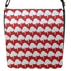 Tree Illustration Gifts Flap Messenger Bag (S)