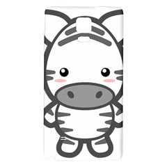 Kawaii Zebra Galaxy Note 4 Back Case
