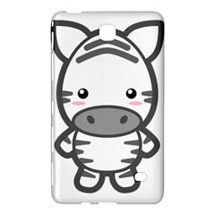 Kawaii Zebra Samsung Galaxy Tab 4 (7 ) Hardshell Case