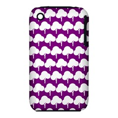Tree Illustration Gifts Apple iPhone 3G/3GS Hardshell Case (PC+Silicone)