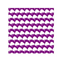 Tree Illustration Gifts Small Satin Scarf (Square)