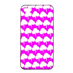 Tree Illustration Gifts Apple Iphone 4/4s Seamless Case (black)