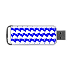 Tree Illustration Gifts Portable USB Flash (Two Sides)