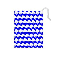 Tree Illustration Gifts Drawstring Pouches (Medium)