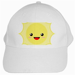 Kawaii Sun White Cap