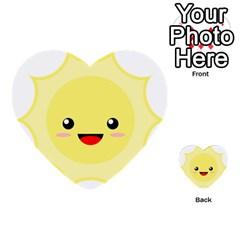 Kawaii Sun Multi Purpose Cards (heart)