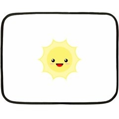 Kawaii Sun Fleece Blanket (Mini)