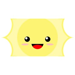 Kawaii Sun YOU ARE INVITED 3D Greeting Card (8x4)
