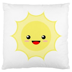 Kawaii Sun Large Cushion Cases (Two Sides)