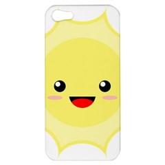 Kawaii Sun Apple iPhone 5 Hardshell Case