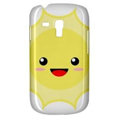 Kawaii Sun Samsung Galaxy S3 MINI I8190 Hardshell Case