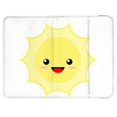 Kawaii Sun Samsung Galaxy Tab 7  P1000 Flip Case