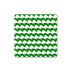Tree Illustration Gifts Square Magnet