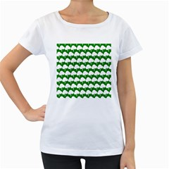 Tree Illustration Gifts Women s Loose-Fit T-Shirt (White)