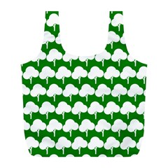 Tree Illustration Gifts Full Print Recycle Bags (L)