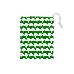 Tree Illustration Gifts Drawstring Pouches (small)