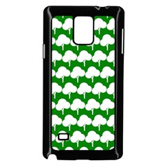Tree Illustration Gifts Samsung Galaxy Note 4 Case (black)