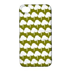 Tree Illustration Gifts Apple iPhone 4/4S Hardshell Case with Stand