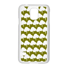 Tree Illustration Gifts Samsung Galaxy S5 Case (White)