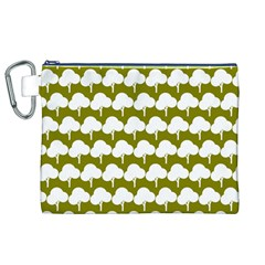 Tree Illustration Gifts Canvas Cosmetic Bag (XL)