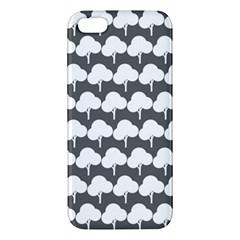 Tree Illustration Gifts iPhone 5S Premium Hardshell Case