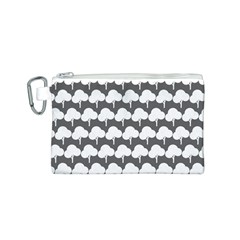 Tree Illustration Gifts Canvas Cosmetic Bag (S)