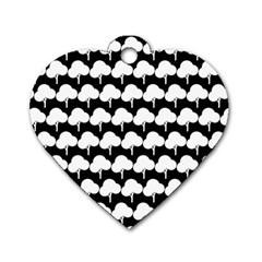 Pattern 361 Dog Tag Heart (Two Sides)
