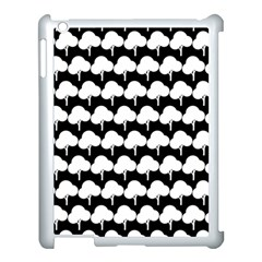 Pattern 361 Apple iPad 3/4 Case (White)