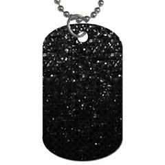 Crystal Bling Strass G283 Dog Tag (one Side)