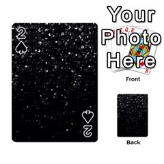 Crystal Bling Strass G283 Playing Cards 54 Designs