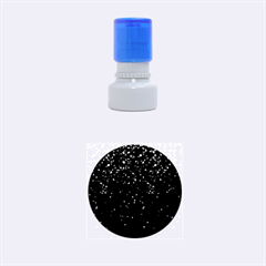 Crystal Bling Strass G283 Rubber Round Stamps (Small)