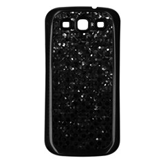 Crystal Bling Strass G283 Samsung Galaxy S3 Back Case (Black)
