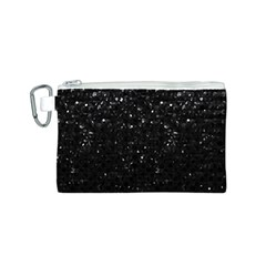 Crystal Bling Strass G283 Canvas Cosmetic Bag (S)