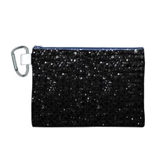 Crystal Bling Strass G283 Canvas Cosmetic Bag (M)