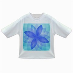 Abstract Lotus Flower 1 Infant/toddler T Shirts