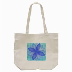 Abstract Lotus Flower 1 Tote Bag (Cream)