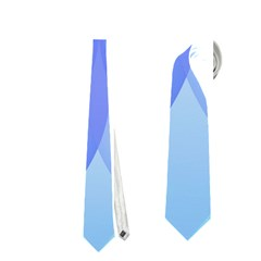 Abstract Lotus Flower 1 Neckties (One Side)