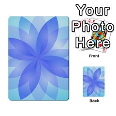 Abstract Lotus Flower 1 Multi-purpose Cards (Rectangle)