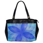Abstract Lotus Flower 1 Office Handbags Front