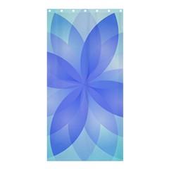 Abstract Lotus Flower 1 Shower Curtain 36  x 72  (Stall)