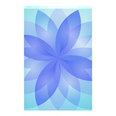 Abstract Lotus Flower 1 Shower Curtain 48  x 72  (Small)