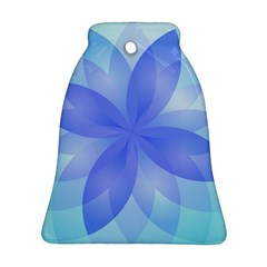 Abstract Lotus Flower 1 Bell Ornament (2 Sides)
