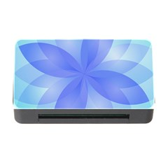 Abstract Lotus Flower 1 Memory Card Reader with CF