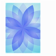 Abstract Lotus Flower 1 Small Garden Flag (Two Sides)