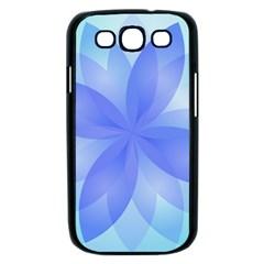 Abstract Lotus Flower 1 Samsung Galaxy S III Case (Black)