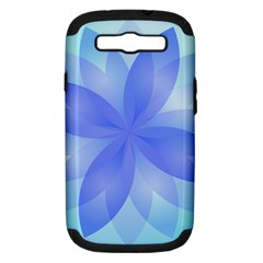 Abstract Lotus Flower 1 Samsung Galaxy S III Hardshell Case (PC+Silicone)