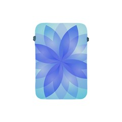 Abstract Lotus Flower 1 Apple Ipad Mini Protective Soft Cases