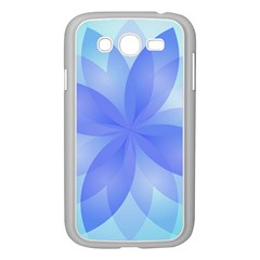 Abstract Lotus Flower 1 Samsung Galaxy Grand DUOS I9082 Case (White)